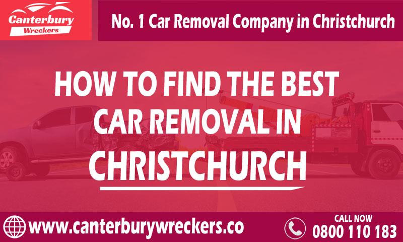 Best Car Removal in ChCh